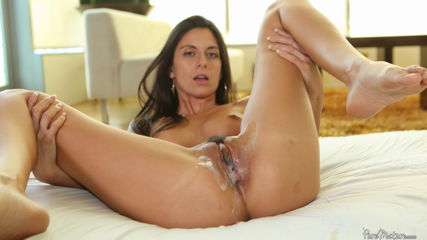Cum in milf tube