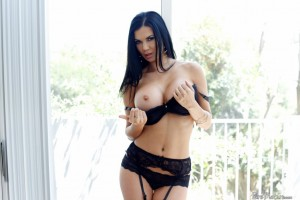 Pure Mature Jasmin Jae in Crotchless Panty Surprise 1