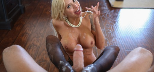 Pure Mature Nina Elle in Pearls & Paperwork 5